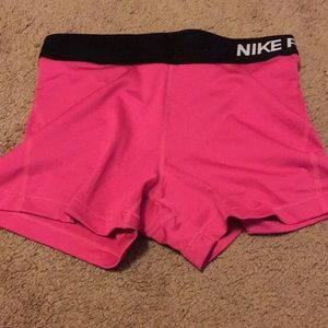 Pants - Nike Pro Dri-Fit Spandex shorts